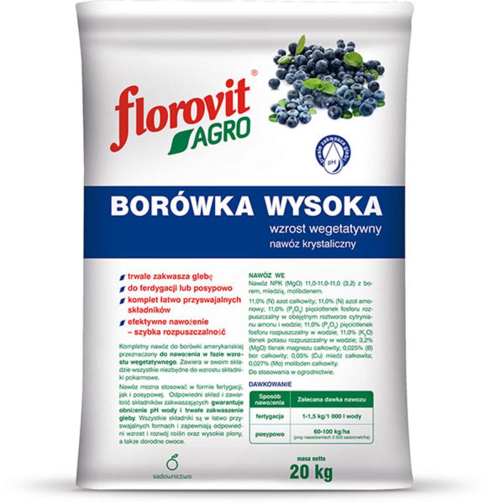Купить удобрение Флоровит для голубики